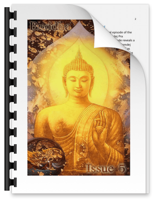 Buddha Magic Issue 5 Coverpage